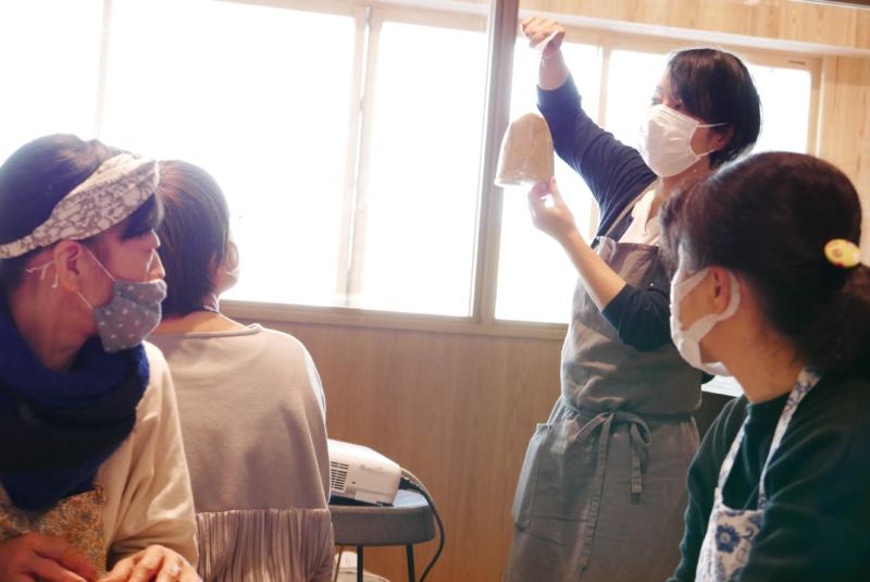 【学ぶ】はっこうする手しごとの会、北村美穂さんの「白味噌づくり体験」
